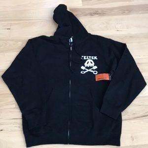 Celtek zip up hoodie - Nwt.
